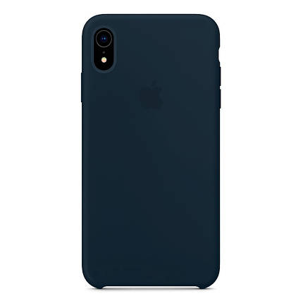 Чехол накладка xCase для iPhone XR Silicone Case Forest green, фото 2