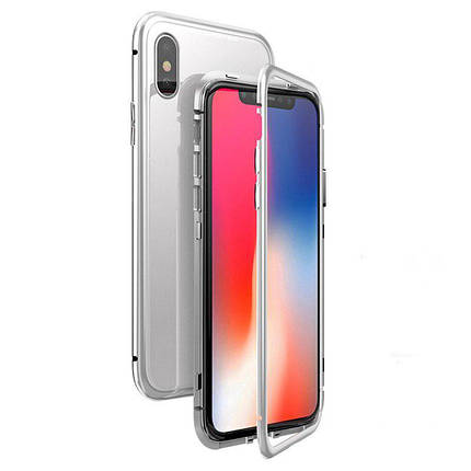 Чехол  накладка xCase для iPhone XS Max Magnetic Case белый, фото 2