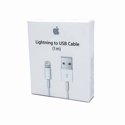 Кабель USB для iPhone Lighting(Md818 FE/A) в коробке, фото 2