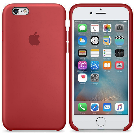 Чехол для iPhone 6 plus/6s  plus Silicone Case камелия(13), фото 2