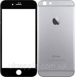 ✅ Защитное стекло 5D для iPhone 6/6s черный тех.упак