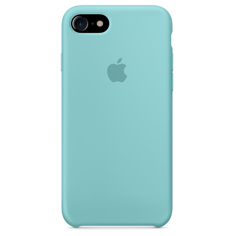 Чехол для iPhone 7/8 Silicone Case мятный