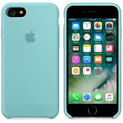 Чехол для iPhone 7/8 Silicone Case мятный, фото 2