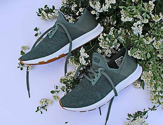 Фирменные летние оливковые женские кроссовки New Balance FuelCore NERGIZE WXNRGGR