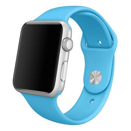 Ремешок xCase для Apple Watch Sport Band 42/44 mm Blue (M), фото 2