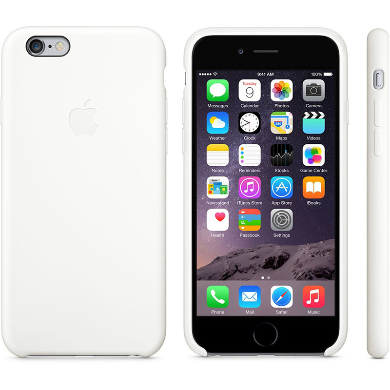 Чехол OEM for Apple iPhone 6/6s Silicone Case White (MGQG2)