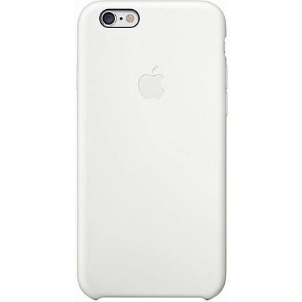 Чехол OEM for Apple iPhone 6/6s Silicone Case White (MGQG2), фото 2