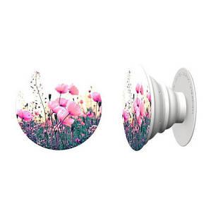 Держатель для телефона PopSocket (Попсокет),цветы