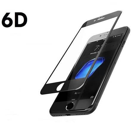 Защитное стекло 6D для iPhone 7 Plus/8 Plus Full Screen черный,тех уп., фото 2
