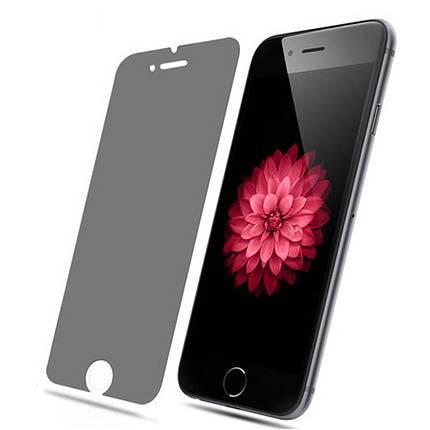 Защитное стекло  для iPhone 7/8 Privacy Антишпион тех.упак., фото 2