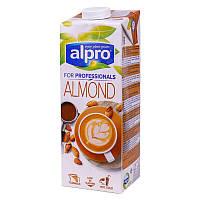 Миндальное молоко Alpro 1л. Бельгия (для холодных и горячих напитков)