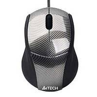 Компьютерная мышка A4Tech N-100-1 carbon ;mini;V-Track   USB