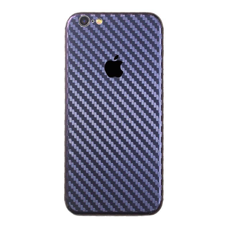 ✅ Защитная пленка на заднюю панель для iPhone 7/8 carbon темно-синий