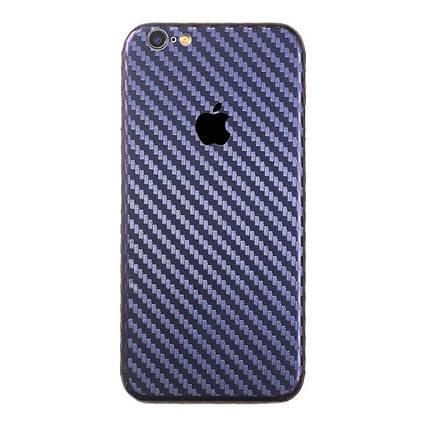 ✅ Защитная пленка на заднюю панель для iPhone 7/8 carbon темно-синий, фото 2
