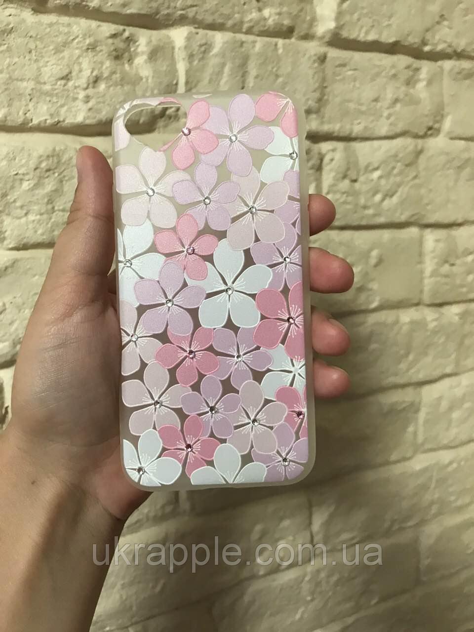 Чехолна iPhone6 plus/6splusсцветамиистразами