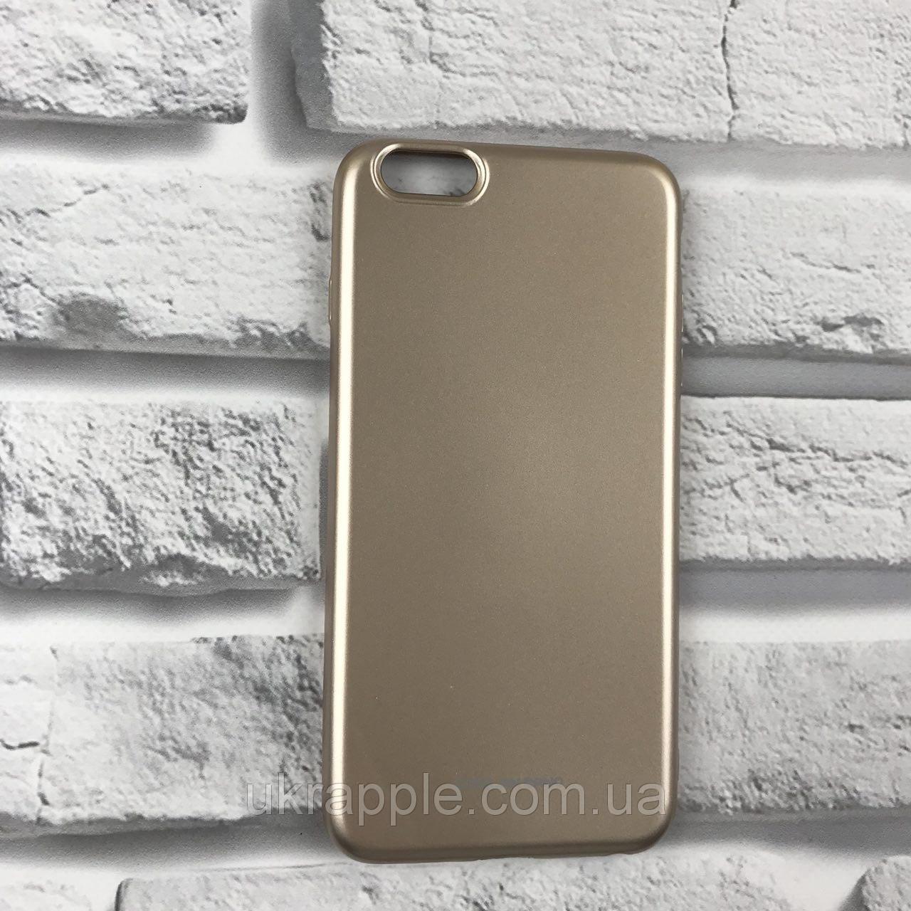 Чехолна iPhone6 plus/6splusMolanCanoJellyзолотой