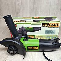 Болгарка ProCraft PW-1100 125 мм