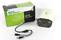 Камера CAMERA 922, Цветная камера видеонаблюдения, Видеокамера внутренняя, Мини камера наблюдения