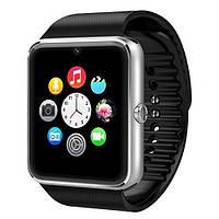 Наручные часы Smart GT08, Умные часы Android Смарт часы Bluetooth, Мужские Смарт часы. Smartwatch