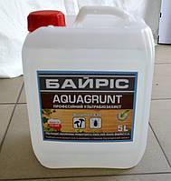 Ультрабиозащита для обработки древесины Aquagrunt Байрис 5 л.