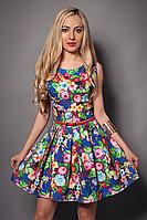 Платье  мод 371-9 размер 44,46,48
