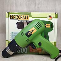 Шуруповерт сетевой ProCraft PB-800, фото 1