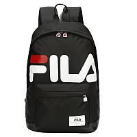 Рюкзак Fila черного цвета. Реплика. Топ качество!!!, фото 1