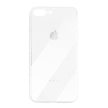 Чехол для iPhone 7 Plus/8 Plus Glass Case Logo white, фото 2
