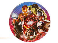 Тарелка Мстители Марвел