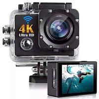 DVR SPORT Экшн камера с пультом S3R remote Wi Fi waterprof 4K, Камера спортивная, Экшн видеокамера