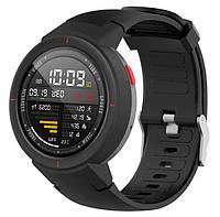 Силиконовый ремешок для часов Xiaomi Amazfit Verge (A1801/A1811) - Black