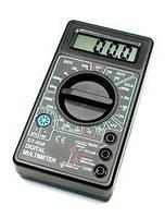 Мультиметр DT 838,Токоизмерительный прибор, Тестер вольтметр амперметр,Цифровой мультиметр многофункциональный