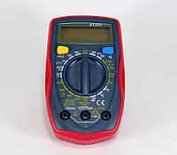 Мультиметр DT UT33C, Цифровой тестер, Измерение тока напряжения сопротивления, Токоизмерительный прибор