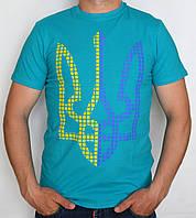Мужская футболка с тризубом, фото 1