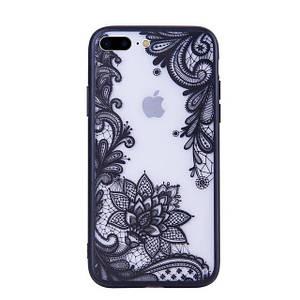 ✅ ЧехолнакладкаxCase наiPhone7 Plus/8plusажурный черный