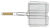 Решетка для гриля и барбекю глубокая 31*25см SunDay (73-505)