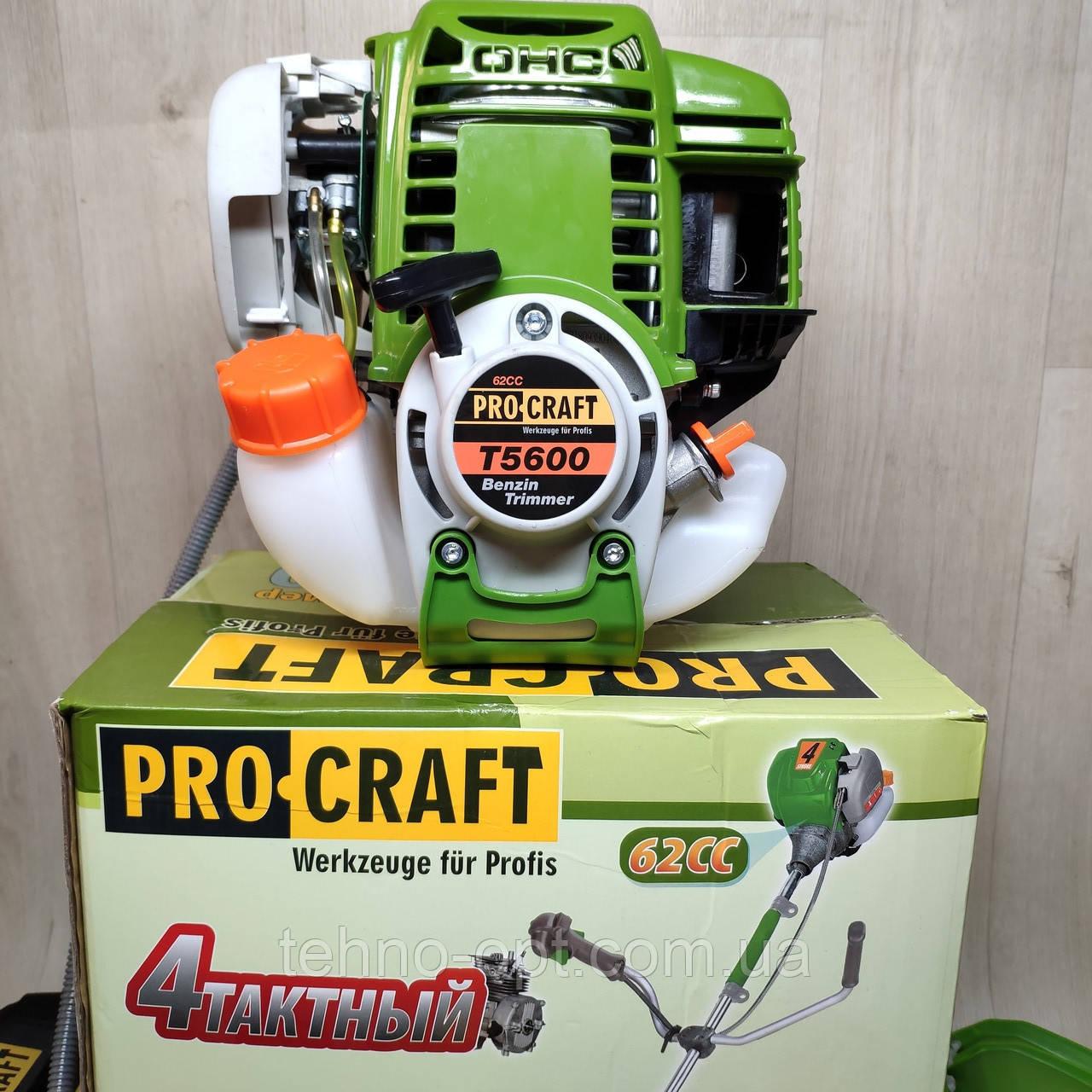 Мотокоса craft T5600 4-х тактная