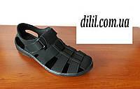 Босоніжки, сандалі чоловічі ( код 230 чорні ), фото 1