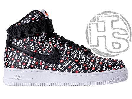 Мужские кроссовки Nike Air Force 1 High Just Do It Pack Black AQ9648-001, фото 2