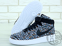 Мужские кроссовки Nike Air Force 1 High Just Do It Pack Black AQ9648-001, фото 3