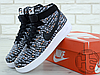 Мужские кроссовки Nike Air Force 1 High Just Do It Pack Black AQ9648-001, фото 5