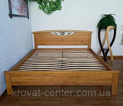 """Кровать полуторная из массива дерева """"Фантазия"""" от производителя, фото 3"""