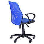 Кресло Oxi/АМФ-4 сиденье Квадро-20/спинка Сетка синяя, фото 3