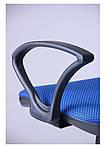 Кресло Oxi/АМФ-4 сиденье Квадро-20/спинка Сетка синяя, фото 7