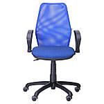Кресло Oxi/АМФ-4 сиденье Квадро-20/спинка Сетка синяя, фото 4