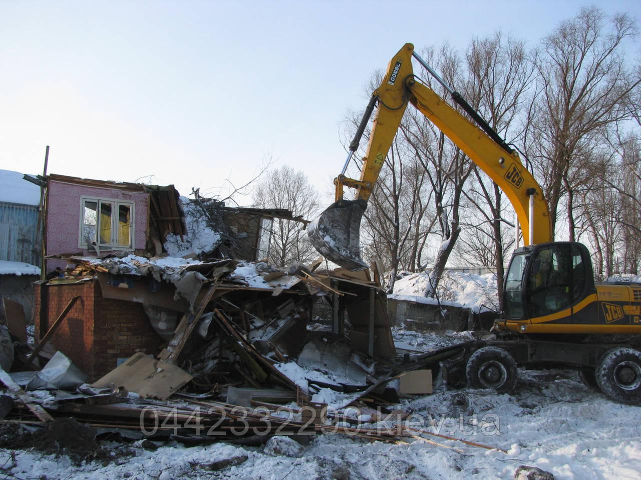 Демонтажные работы - снос домов, зданий, дач, вывоз мусора, боя