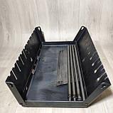 Мангал Огонёк раскладной в чемодан 3мм с ножками на 6 шампуров ХВЗ, фото 2