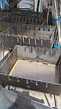 Мангал Огонёк раскладной в чемодан 3мм с ножками на 6 шампуров ХВЗ, фото 6