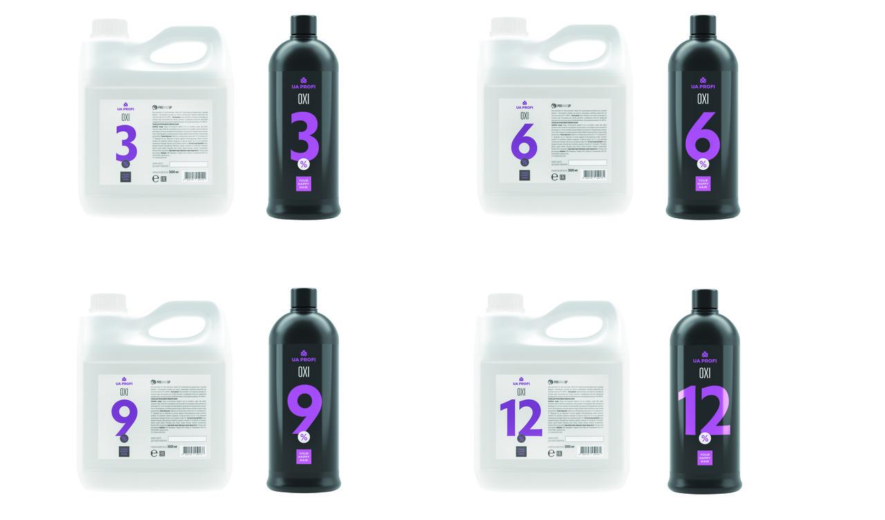 Крем-окислитель ОXY  UA PROFI 9% 3л