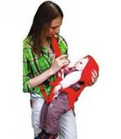 Рюкзак-слинг Панда 7095 + муфточка на ручки ребенку